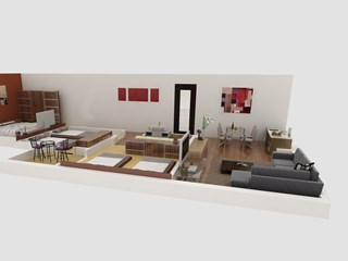 3 Bedrooms Apartment